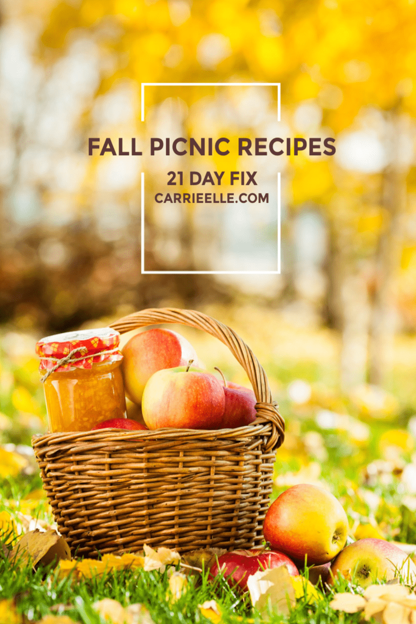 21 Day Fix Fall Recipes