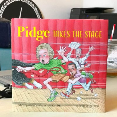 "Pidge is back and destined for stardom in ""Pidge Takes the Stage"" by Michelle Staubach Grimes"