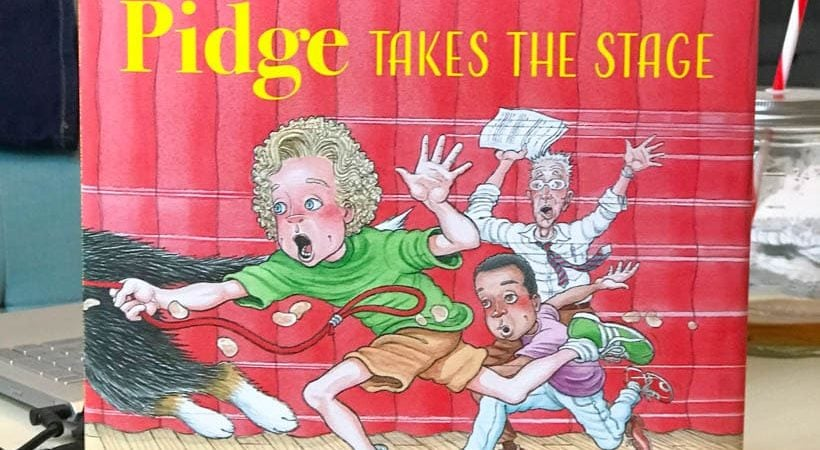 """Pidge is back and destined for stardom in """"Pidge Takes the Stage"""" by Michelle Staubach Grimes"""