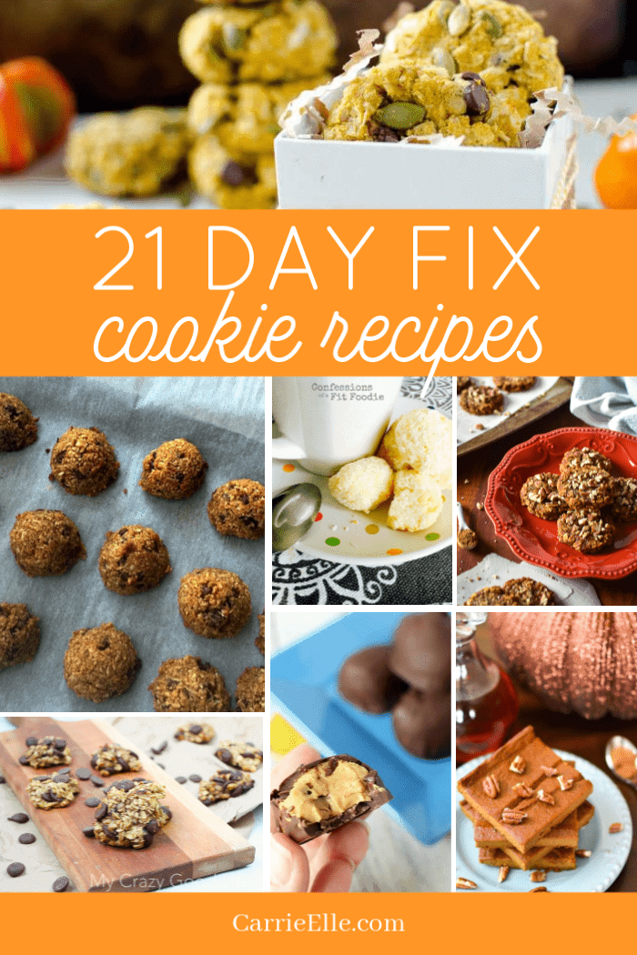 21 Day Fix Cookie Recipes