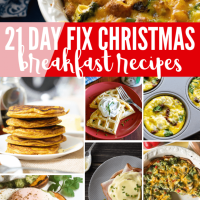 Sip, Celebrate, and Savor the Holidays with Delicious 21 Day Fix Christmas Breakfast Recipes