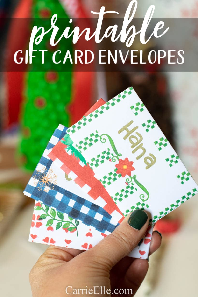 Printable Gift Card Envelopes (1)