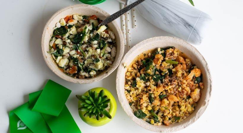 Easy Frozen Veggie Bowls for Breakfast