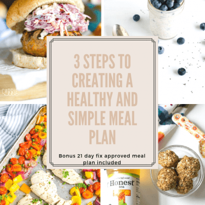 21 Day Fix Meal Planning