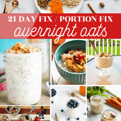 21 Day Fix Portion Fix Overnight Oats