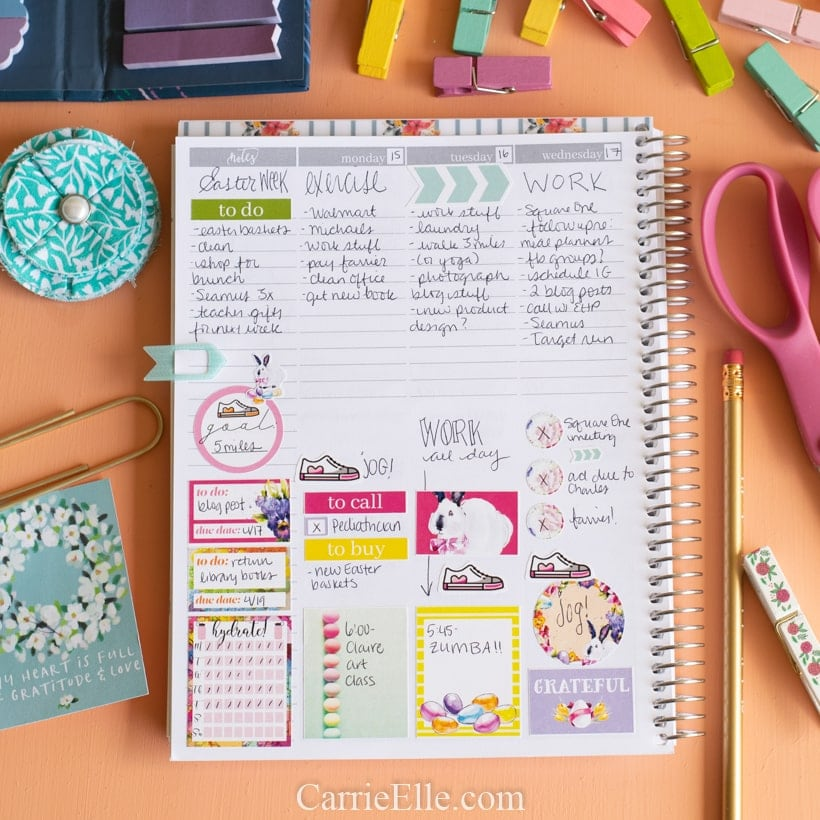 Printable Easter Planner Stickers