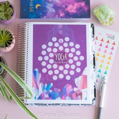 Printable 40 Day Yoga Tracker