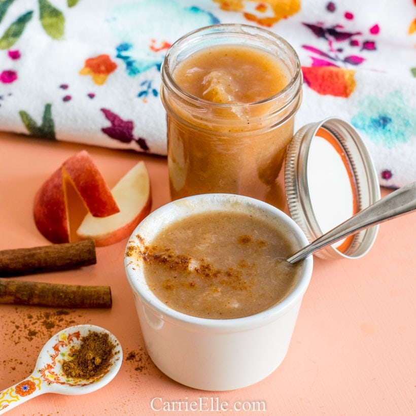 Instant Pot Peach Applesauce Weight Watchers 21 Day Fix