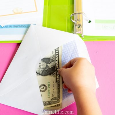 Printable DIY Cash Envelope System for Kids