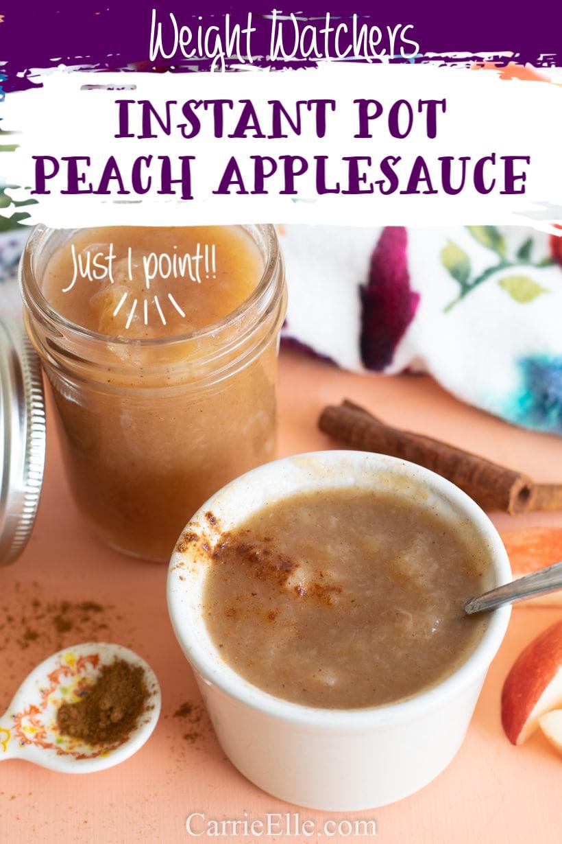Weight Watchers Instant Pot Applesauce