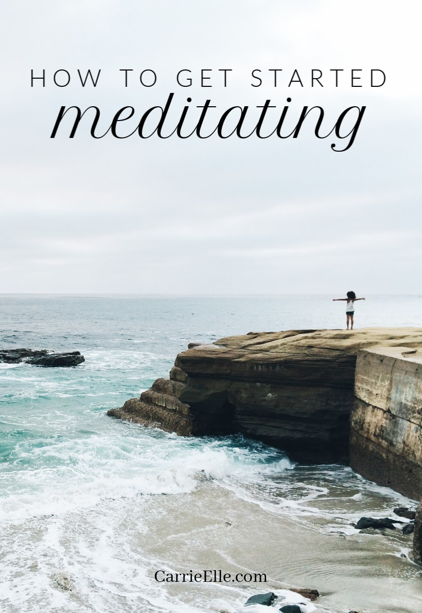 How to get started meditating