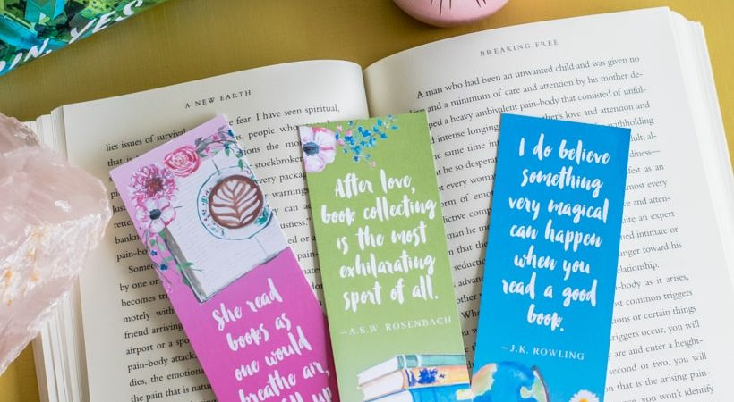 Printable Book Lover Bookmarks