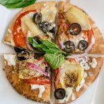 21 Day Fix Whole Wheat Artichoke Heart Pizza