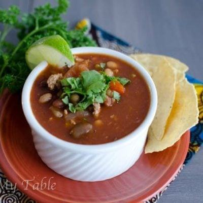Weight Watchers Crock Pot Turkey Chili