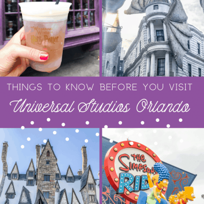 6 Things I Wish I'd Known Before Visiting Universal Studios Orlando
