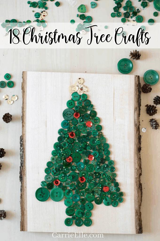 18 Christmas Tree Crafts