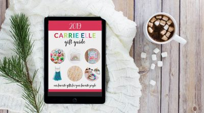 2019 Carrie Elle Gift Guide