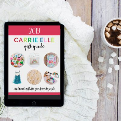 The 2019 Carrie Elle Gift Guide is Here!