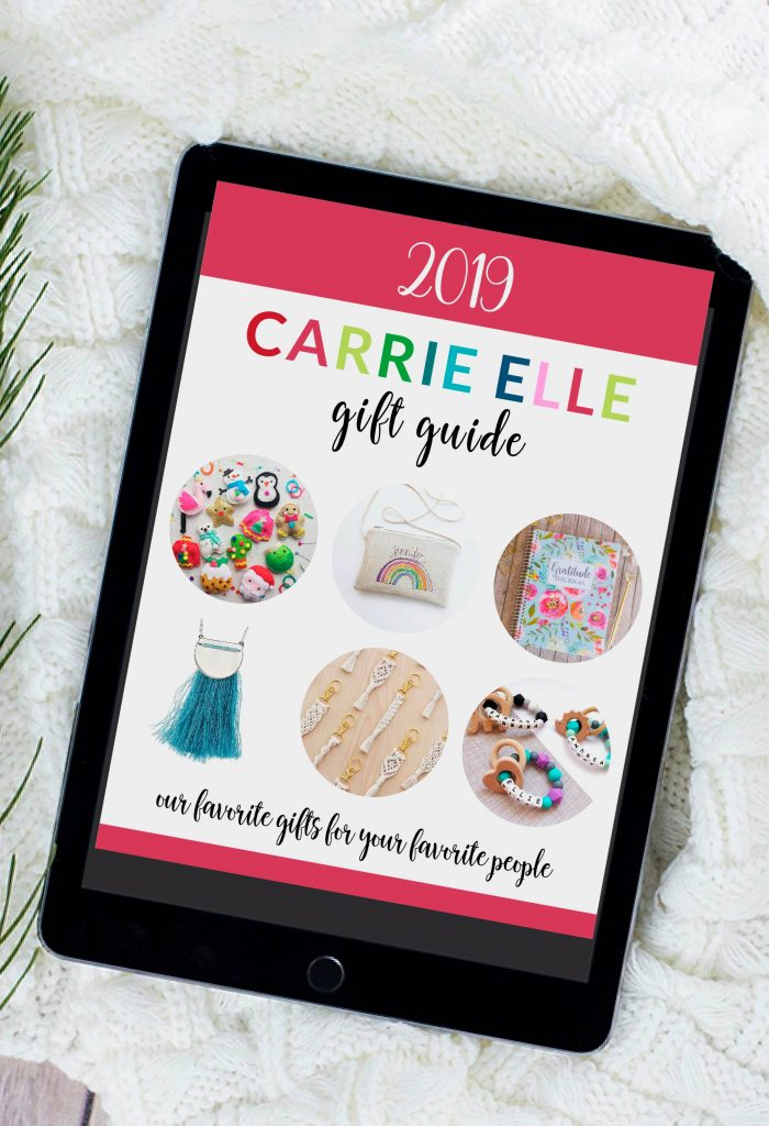 Carrie Elle Gift Guide 2019