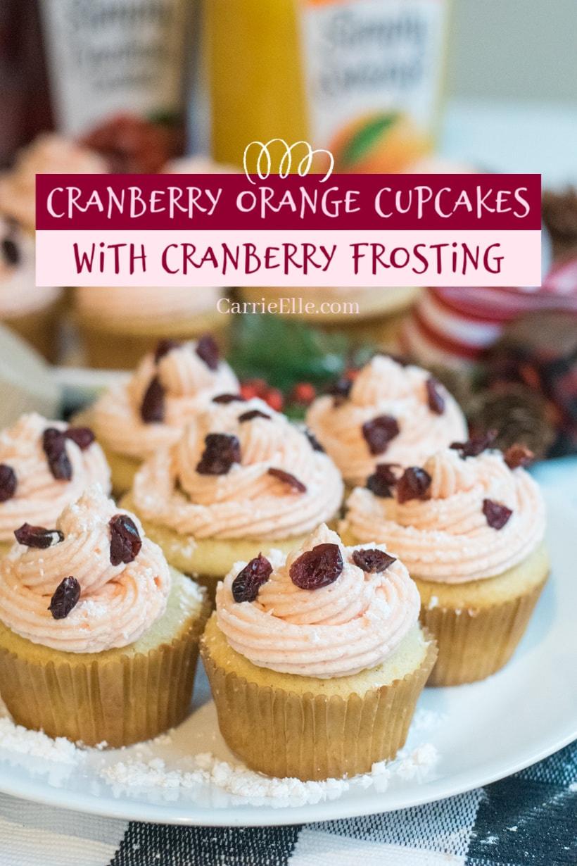 Cranberry Orange Cupcakes