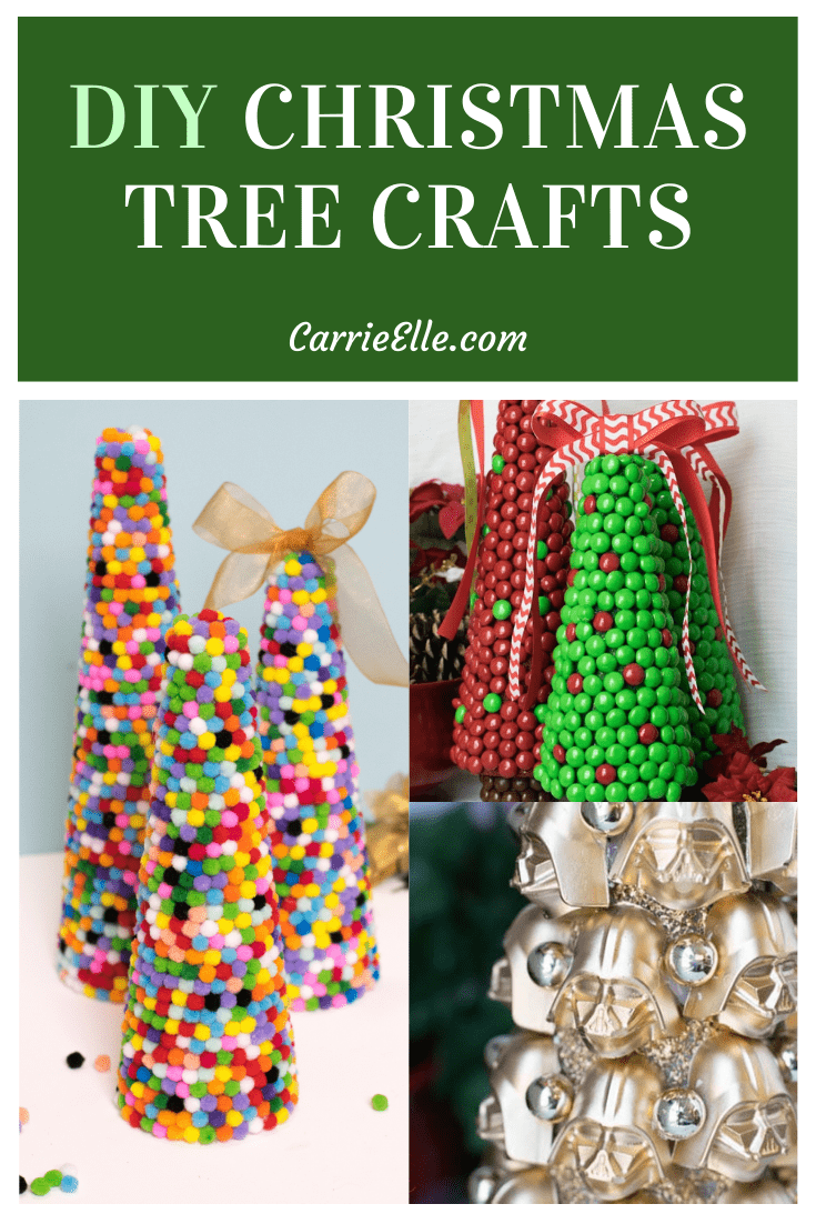 18 Christmas Tree Crafts Carrie Elle