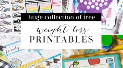Free Weight Loss Printables CarrieElle.com