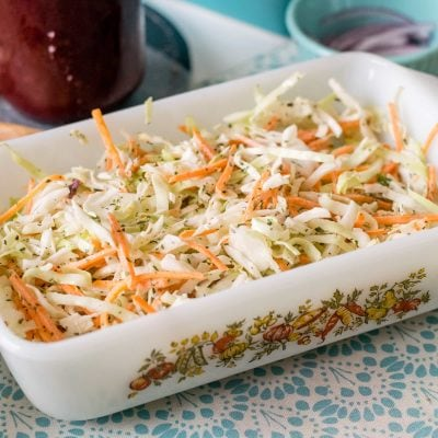 Light and Tangy Low-Calorie Coleslaw