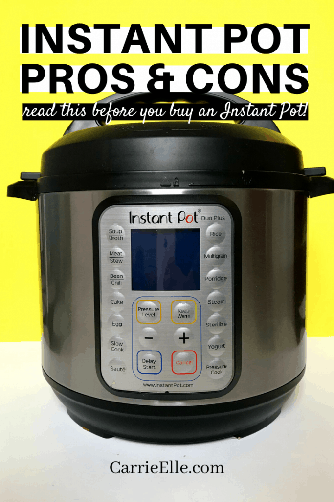 Instant Pot Pros and Cons