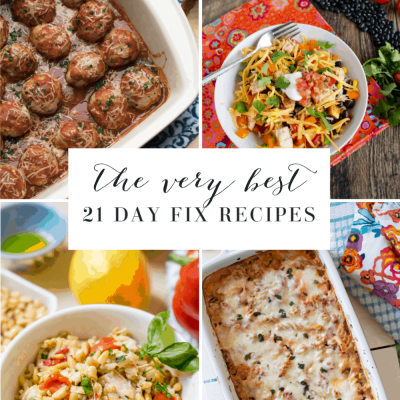 Top 10 21 Day Fix Recipes of 2019