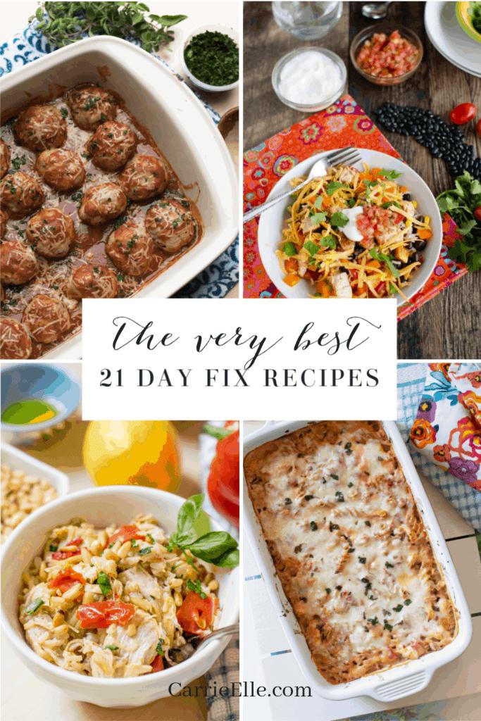 Best 21 Day Fix Dinner Recipes