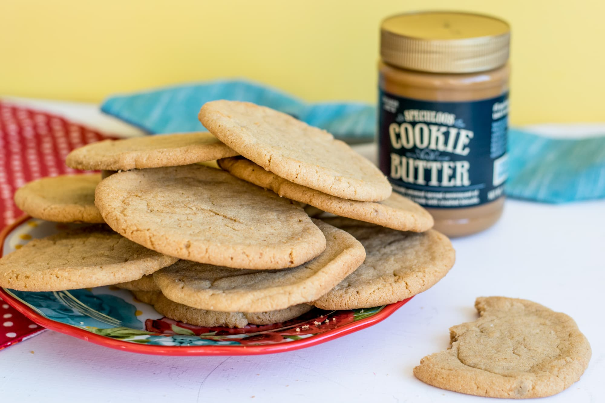 Trader Joe's Cookie Butter Cookies CarrieElle.com