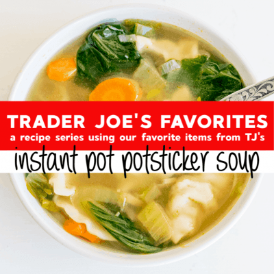 Instant Pot Potsticker Soup