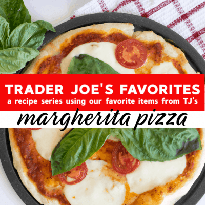 Homemade Trader Joe's Margherita Pizza