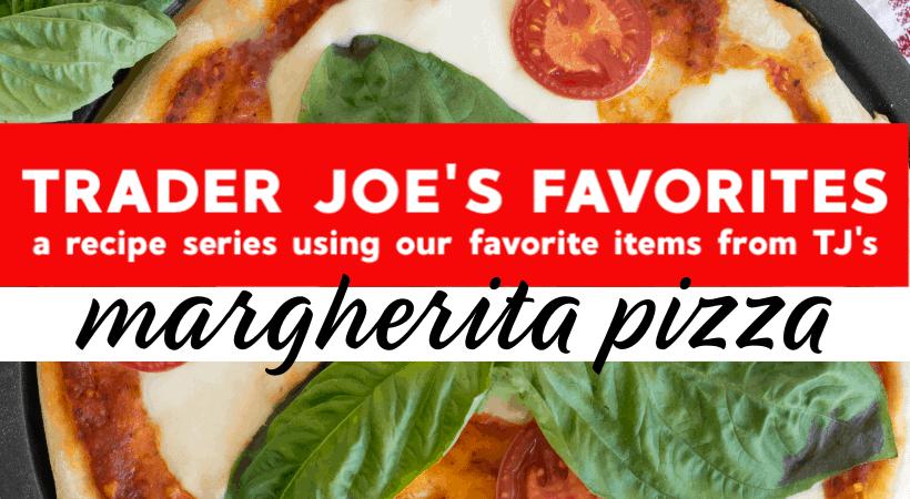 Homemade Trader Joe's Margherita Pizza