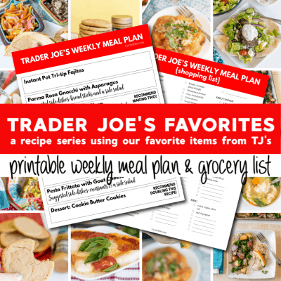 Trader Joe's Weekly Meal Plan