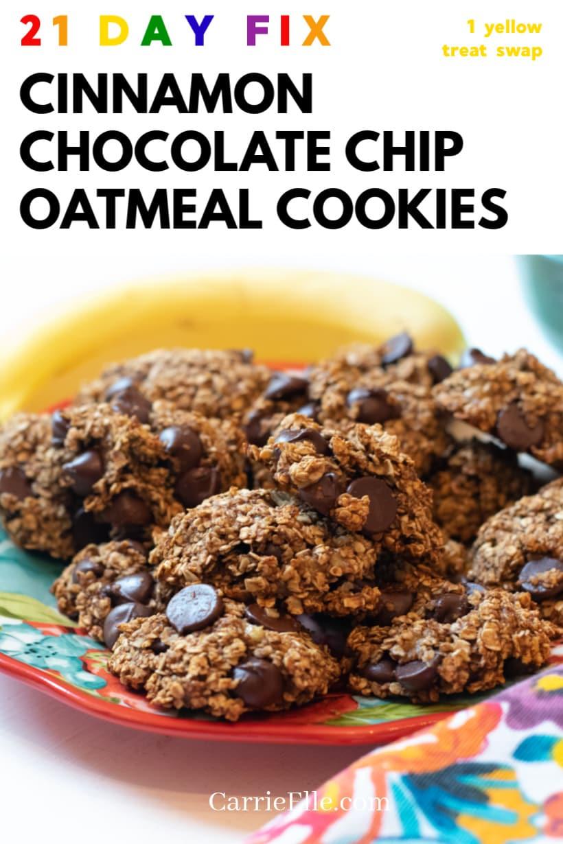21 Day Fix Oatmeal Cookie Treat Swap