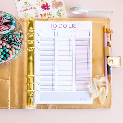Printable To-Do List Checklist