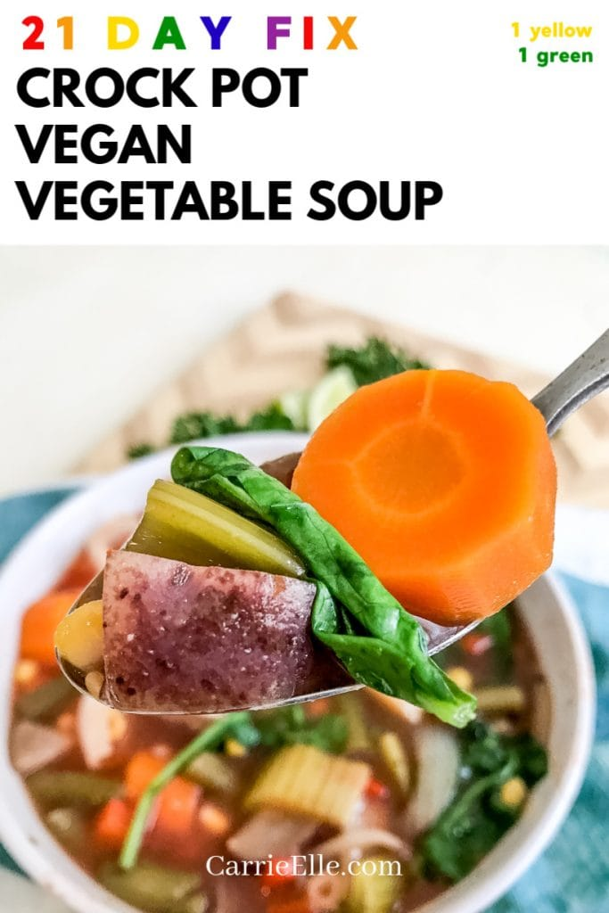 21DF Vegan Crock Pot Soup