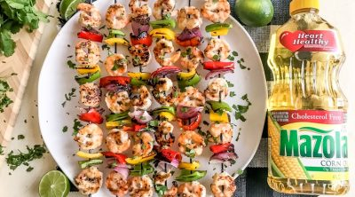 Grilled Shrimp Skewers with Spicy Honey Garlic Marinade CarrieElle