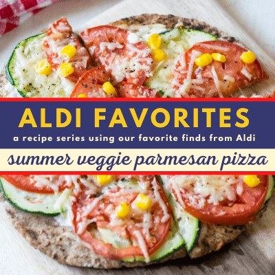 Whole Wheat Summer Veggie Parmesan Pizza | 21 Day Fix | Weight Watchers