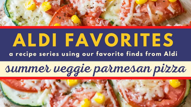 Whole Wheat Summer Veggie Parmesan Pizza | 21 Day Fix | Weight Watchers