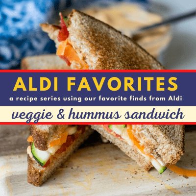Whole Wheat Veggie Hummus Sandwich | 21 Day Fix | Weight Watchers