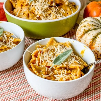 Pumpkin Alfredo Pasta | 21 Day Fix | Weight Watchers