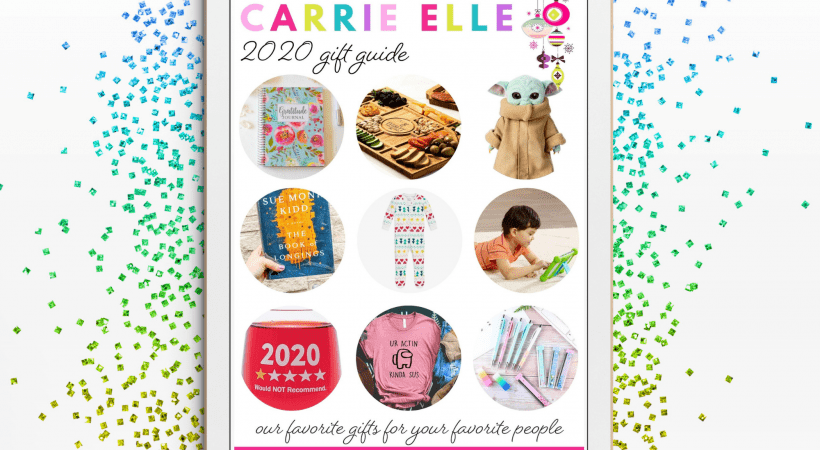 2020 Carrie Elle Gift Guide