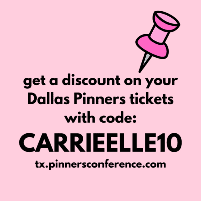Pinners Promo Code (and Plan Your Trip to Pinners Conference)
